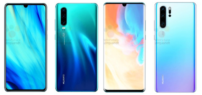 huawei p30 pro lo dien voi may anh cuc chat, zoom quang sieu xa hinh anh 1