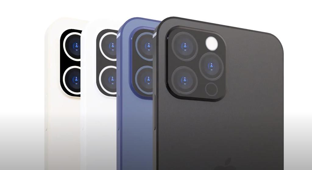 Chiêm ngưỡng bản dựng iPhone 2021 Pro với Touch ID dưới màn hình, bỏ cổng kết nối ảnh 2
