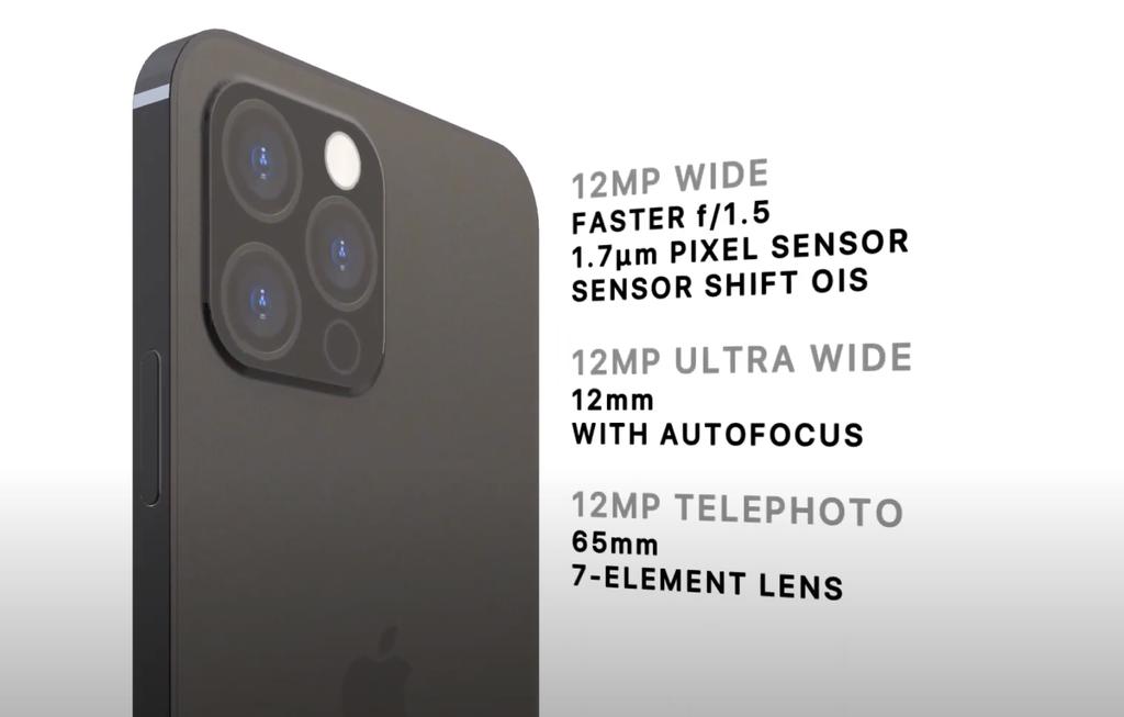 Chiêm ngưỡng bản dựng iPhone 2021 Pro với Touch ID dưới màn hình, bỏ cổng kết nối ảnh 4