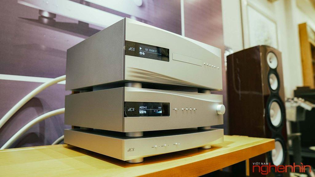 Đầu phát dCSRossini CD/SACD Transport trình diện giới Audiophile tại Việt Nam ảnh 2