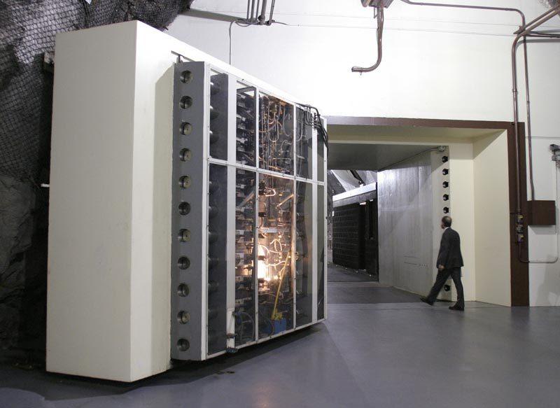 Bí ẩn căn cứ mật trên núi được Mỹ dùng phòng kịch bản xấu vì Covid-19