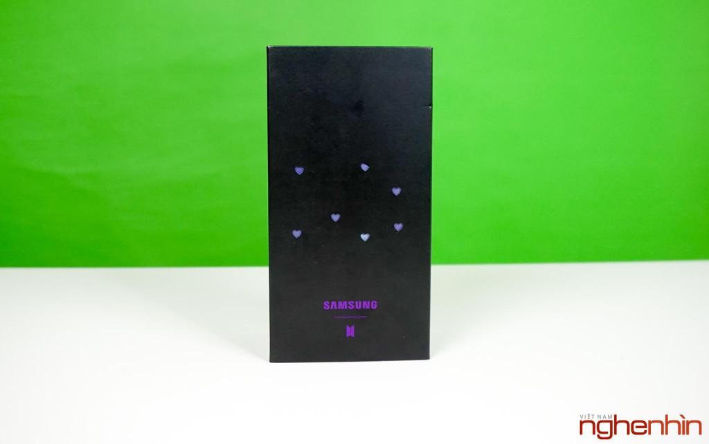 Trên tay Samsung Galaxy S20+ BTS Edition: Màu đẹp nhất của S20, biết chiều lòng fan ảnh 2