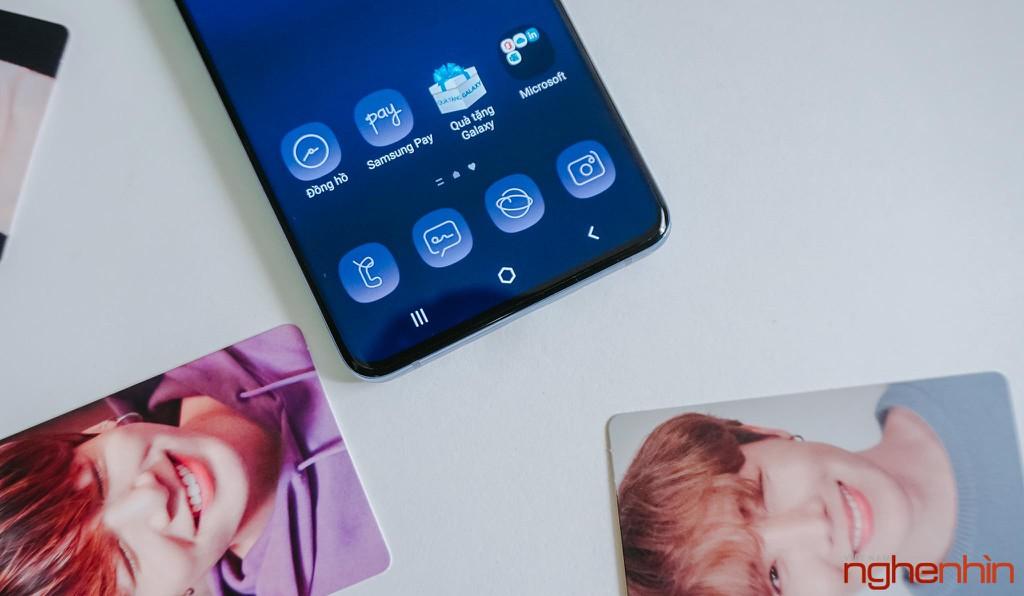 Trên tay Samsung Galaxy S20+ BTS Edition: Màu đẹp nhất của S20, biết chiều lòng fan ảnh 14