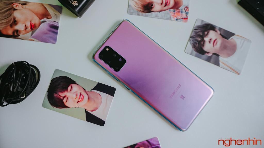 Trên tay Samsung Galaxy S20+ BTS Edition: Màu đẹp nhất của S20, biết chiều lòng fan ảnh 8