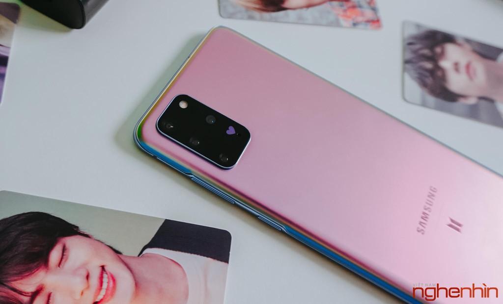 Trên tay Samsung Galaxy S20+ BTS Edition: Màu đẹp nhất của S20, biết chiều lòng fan ảnh 9
