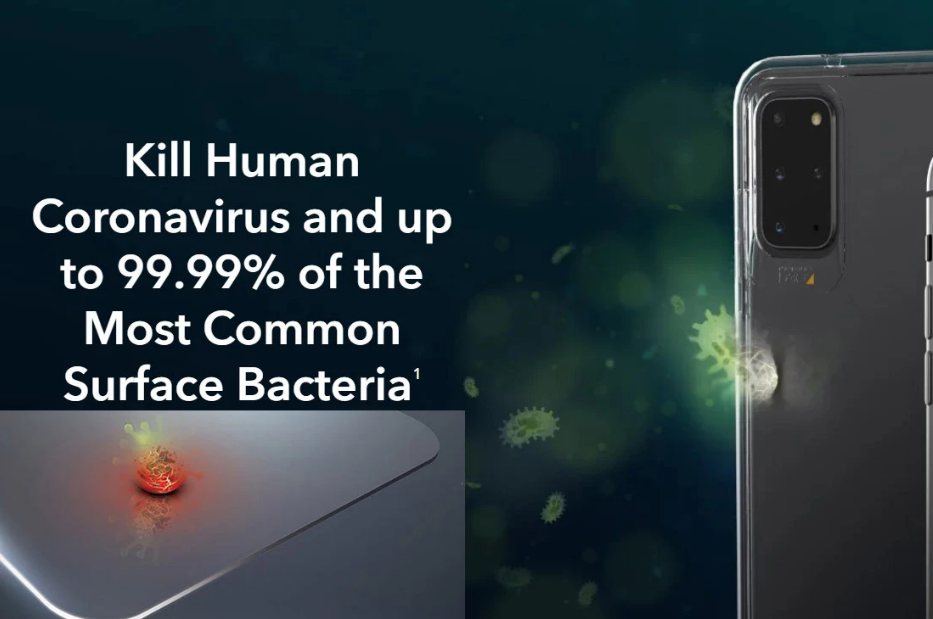 Miếng dán này có thể tiêu diệt coronavirus trên màn hình smartphone ảnh 2