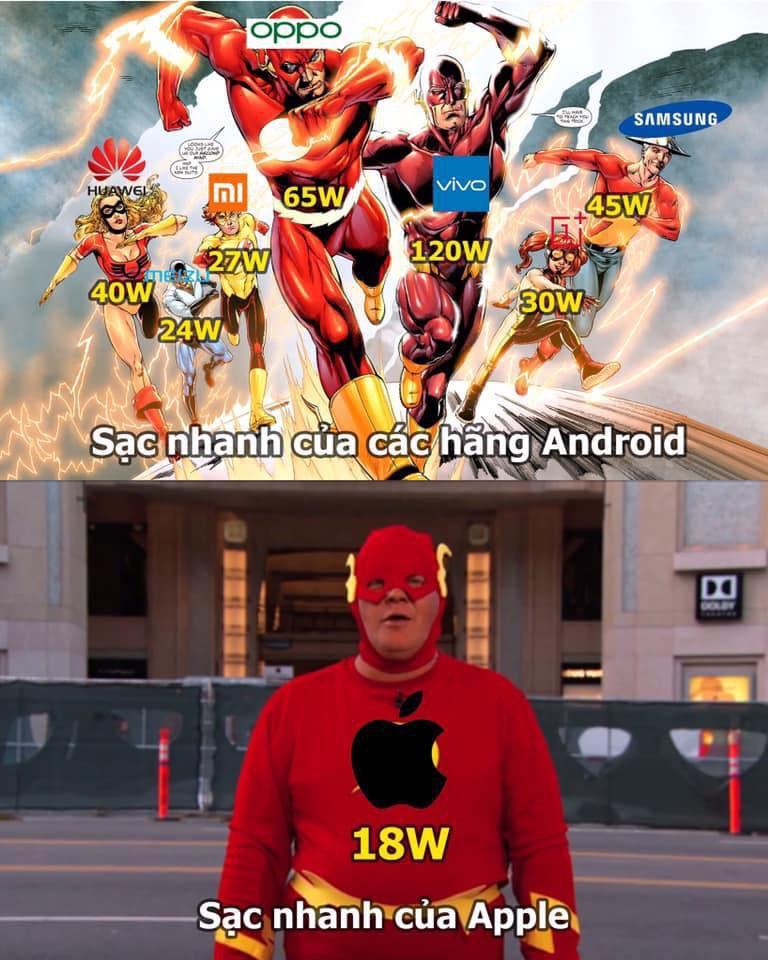 Sạc nhanh trên smartphone: Nếu gọi 18W của Apple là nhanh thì các hãng Android là siêu nhanh ảnh 1