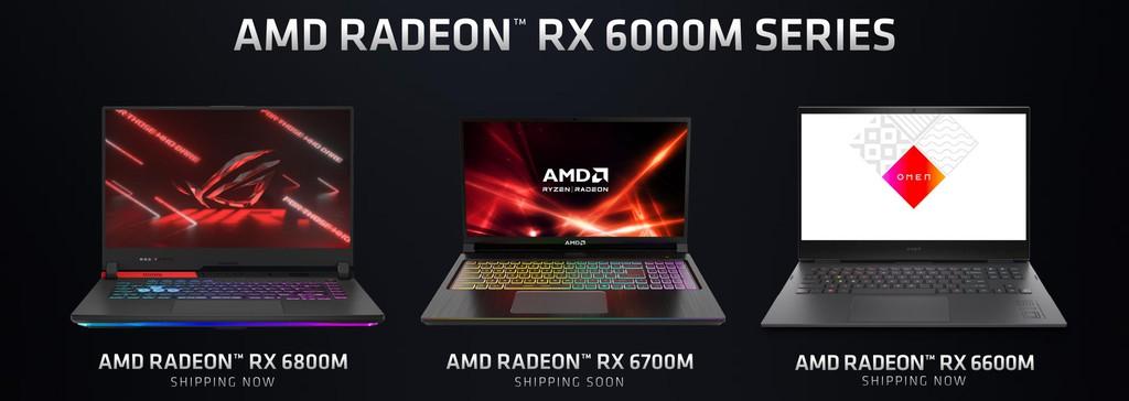 AMD công bố dòng GPU Radeon RX 6000M với kiến trúc RDNA 2 cực mạnh ảnh 2