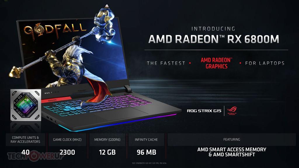 AMD công bố dòng GPU Radeon RX 6000M với kiến trúc RDNA 2 cực mạnh ảnh 3