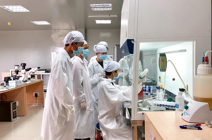Phòng thí nghiệm của Viện Tế bào gốc (ĐH KHTN, ĐHQG TP.HCM). Đây là một trong những đơn vị đã thực hiện nhiều đề tài của Bộ KH&CN. Ảnh: Viện Tế bào gốc.