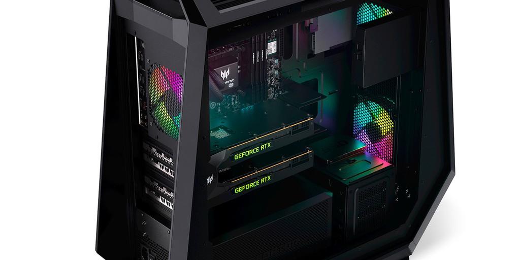 Predator Orion: PC Gaming của Acer có GPU GeForce RTX 30 Series siêu mạnh ảnh 2
