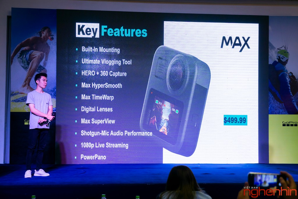 GoPro cùng Synnex FPT ra mắt Hero 8 Black và Max tại thị trường Việt giá 10,5 triệu ảnh 14