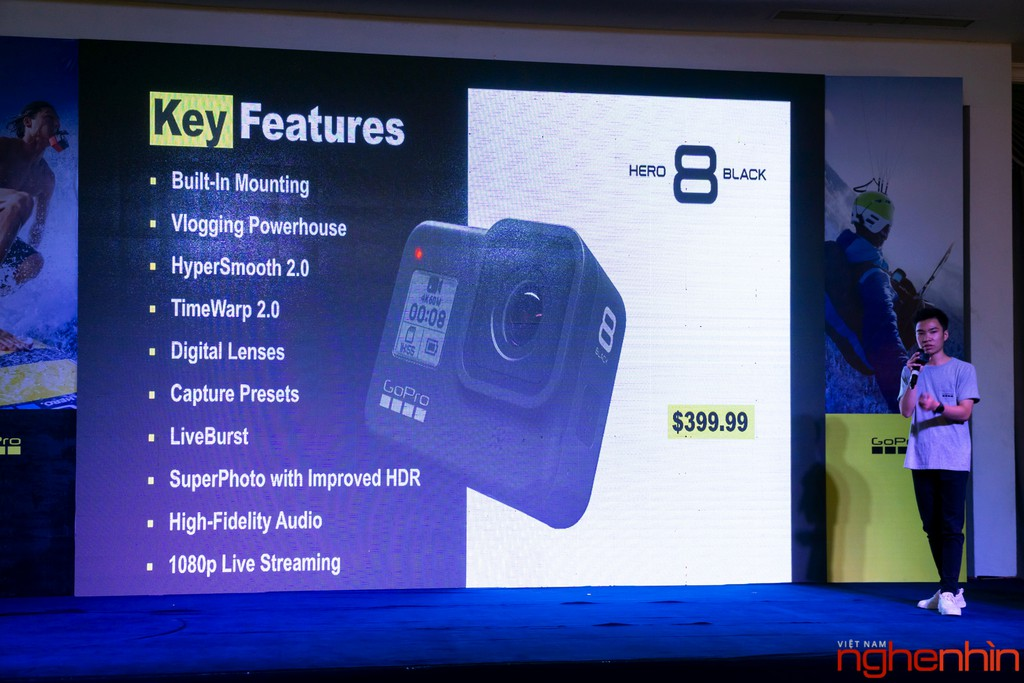 GoPro cùng Synnex FPT ra mắt Hero 8 Black và Max tại thị trường Việt giá 10,5 triệu ảnh 8