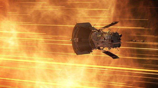 Parker Solar Probe, tàu thăm dò Mặt Trời của NASA.