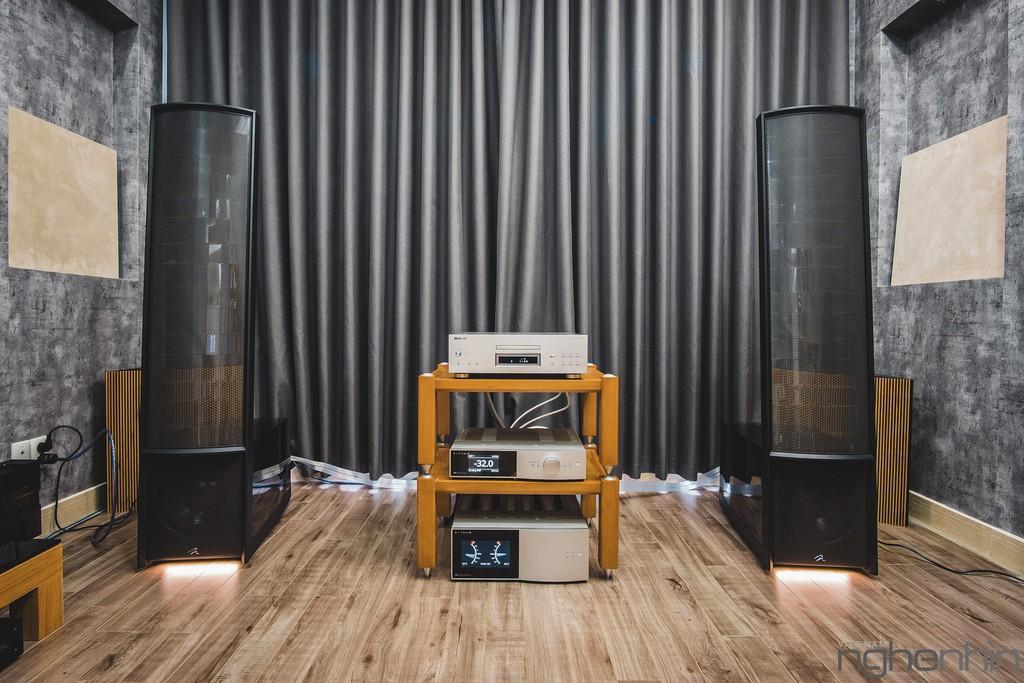 Martinlogan Expression ESL 13A - Đột phá tái tạo nguồn âm từ bản thu thành sân khấu live ảnh 2