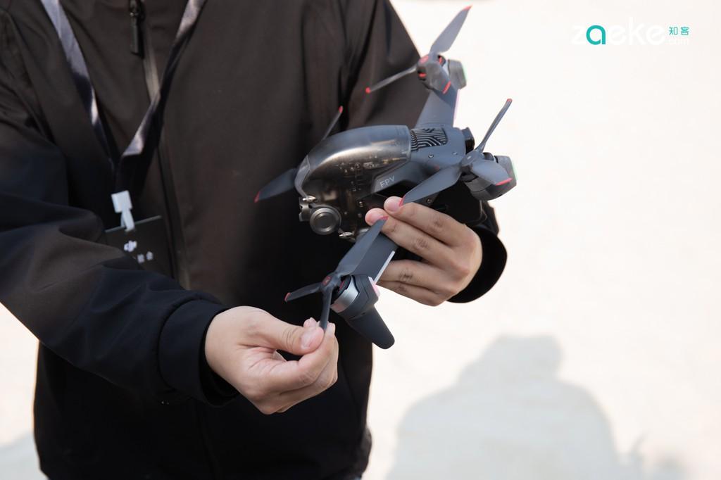 DJI công bố máy bay không người lái đua góc nhìn thứ nhất FPV đầu tiên ảnh 8