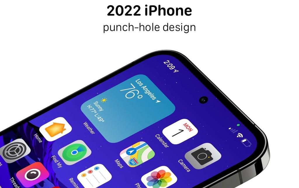 "iPhone 2022 sẽ ""học theo"" Samsung? ảnh 1"