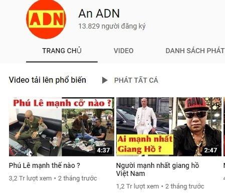 Kênh YouTube của Khá Bảnh chính thức bị xóa