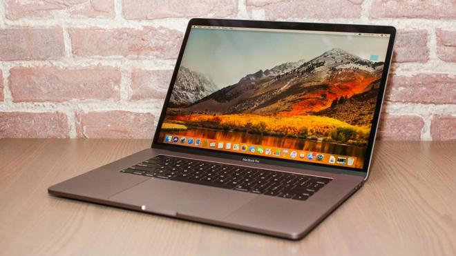 macbook pro dang bi loi