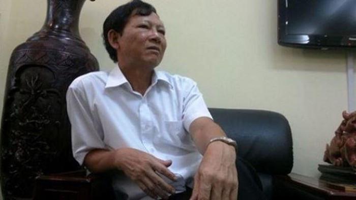 Nguyen Chu tich Hoi dong quan tri Cong ty Nha Ha Noi ra hau toa