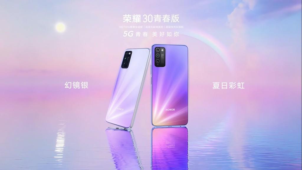 Honor 30 Lite ra mắt: chip Dimensity 800 5G, màn hình 90Hz, giá từ 241 USD ảnh 1