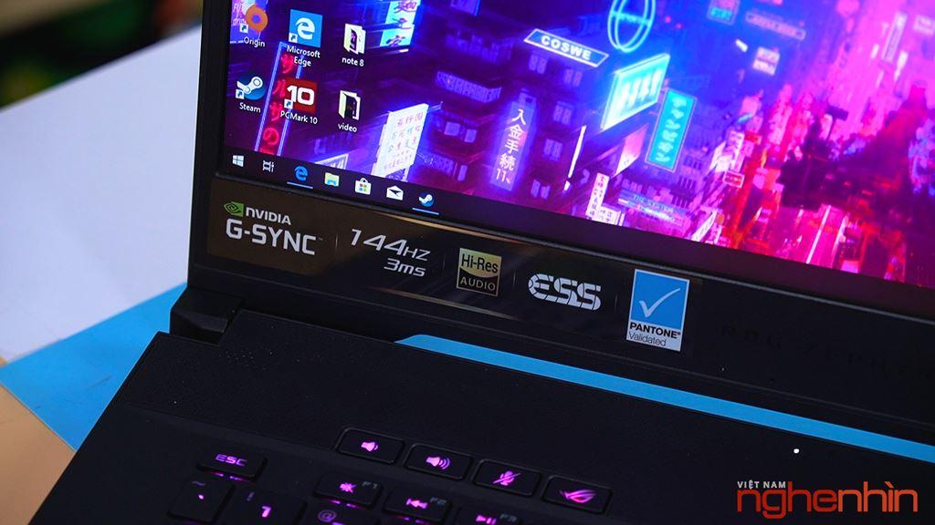 Đánh giá laptop gaming Asus Zephyrus S GX502: gọn mỏng, mạnh mẽ  ảnh 6