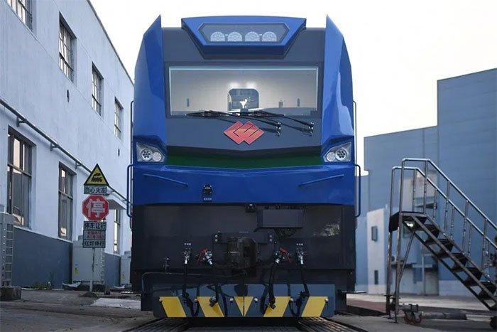Mẫu đầu máy tàu điện mới không chỉ mạnh mẽ mà còn thân thiện hơn với môi trường.