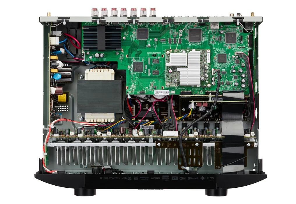 Marantz NR1711 – Receiver 8K siêu mỏng, 90W x 7 kênh, ngập công nghệ ảnh 5