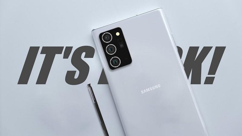 Galaxy Note 20 Ultra quay phim xịn hơn với 8K/120p ảnh 1