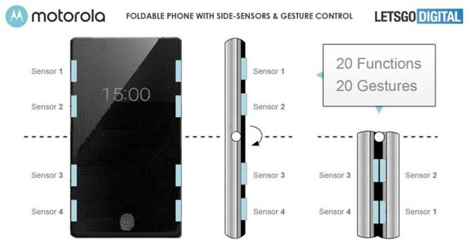 Motorola Razr 2 lộ ảnh sắc nét: cảm ứng viền hỗ trợ sử dụng cả khi gập lại ảnh 2