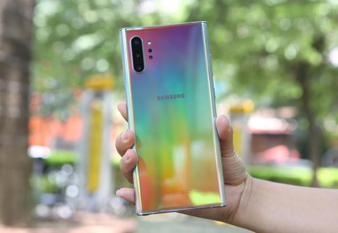 galaxy note 10 duoc danh gia la dinh cao ve thiet ke hinh anh 1
