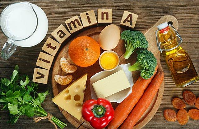 Vitamin A giúp ích cho quá trình tăng trưởng của tế bào.