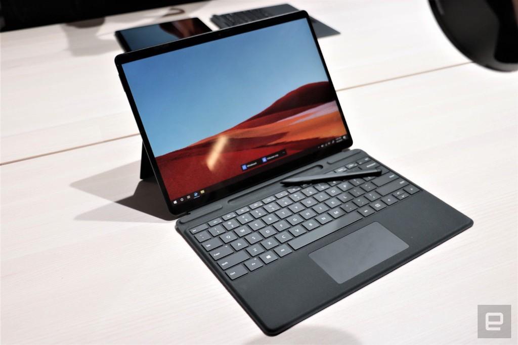 Surface Pro X: chiếc Surface đẹp nhất Microsoft từng tạo ra, giá từ 999 USD ảnh 2