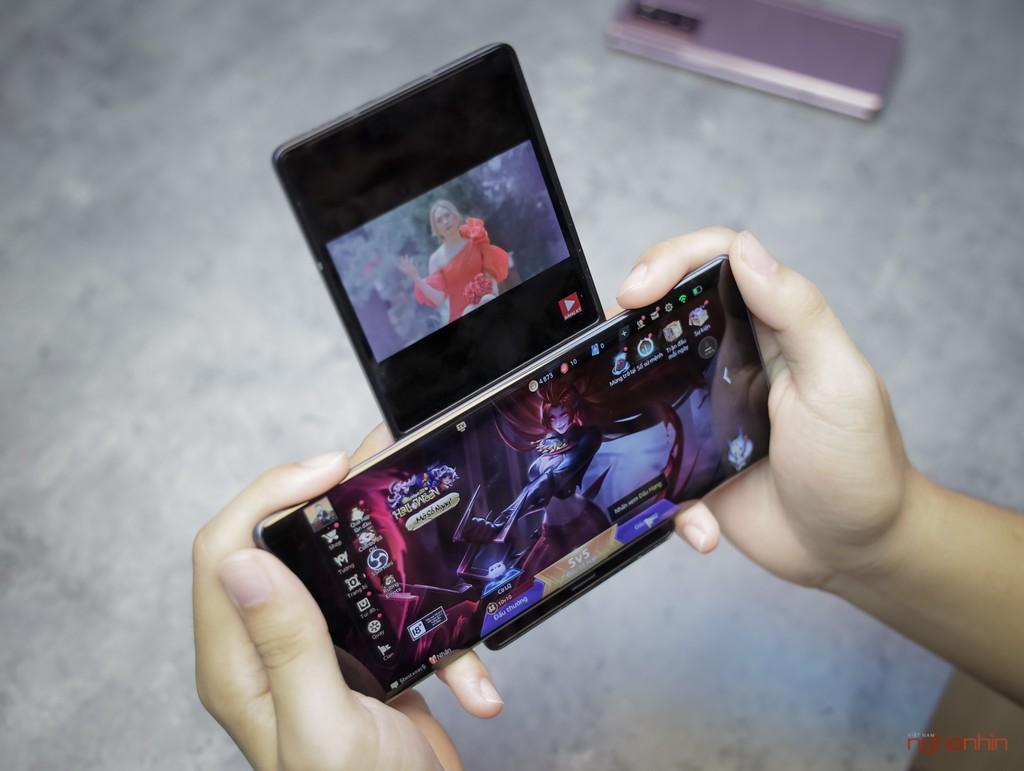 Trên tay LG Wing tại Việt Nam: màn hình xoay chữ T siêu dị  ảnh 22