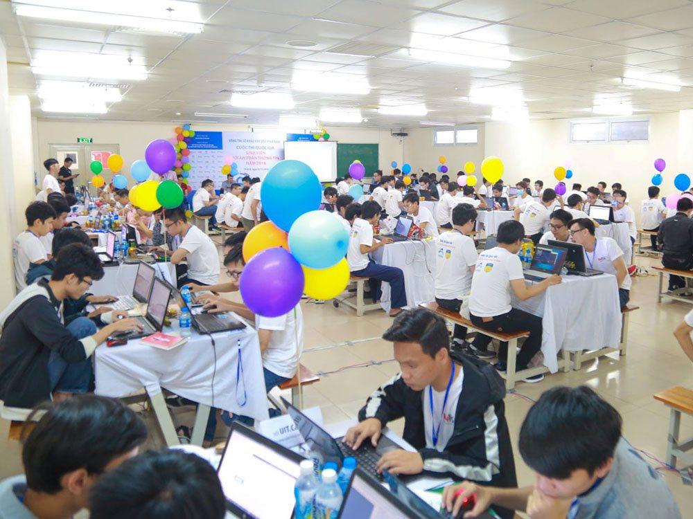 """Hôm nay, sinh viên 31 trường đại học thi sơ khảo """"Sinh viên với An toàn thông tin ASEAN 2019"""""""