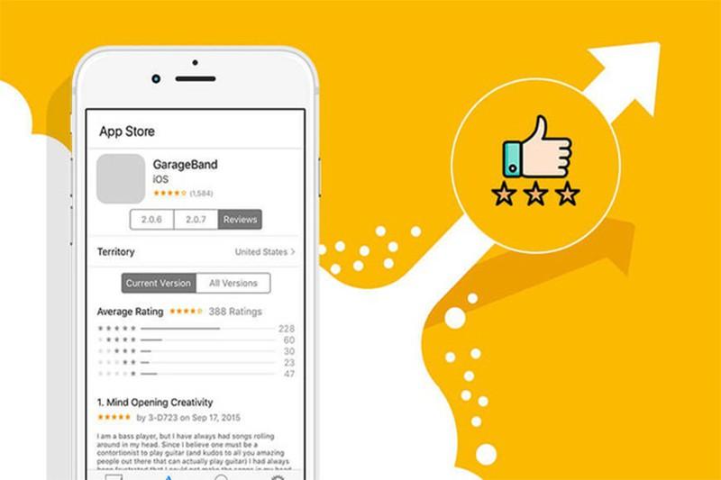 Apple App Store gap loi, 20 trieu luot danh gia bi xoa sach
