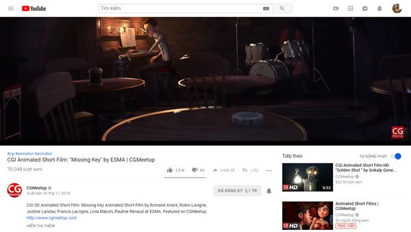 YouTube: Cách xem bình luận video khi ở chế độ Full-Screen