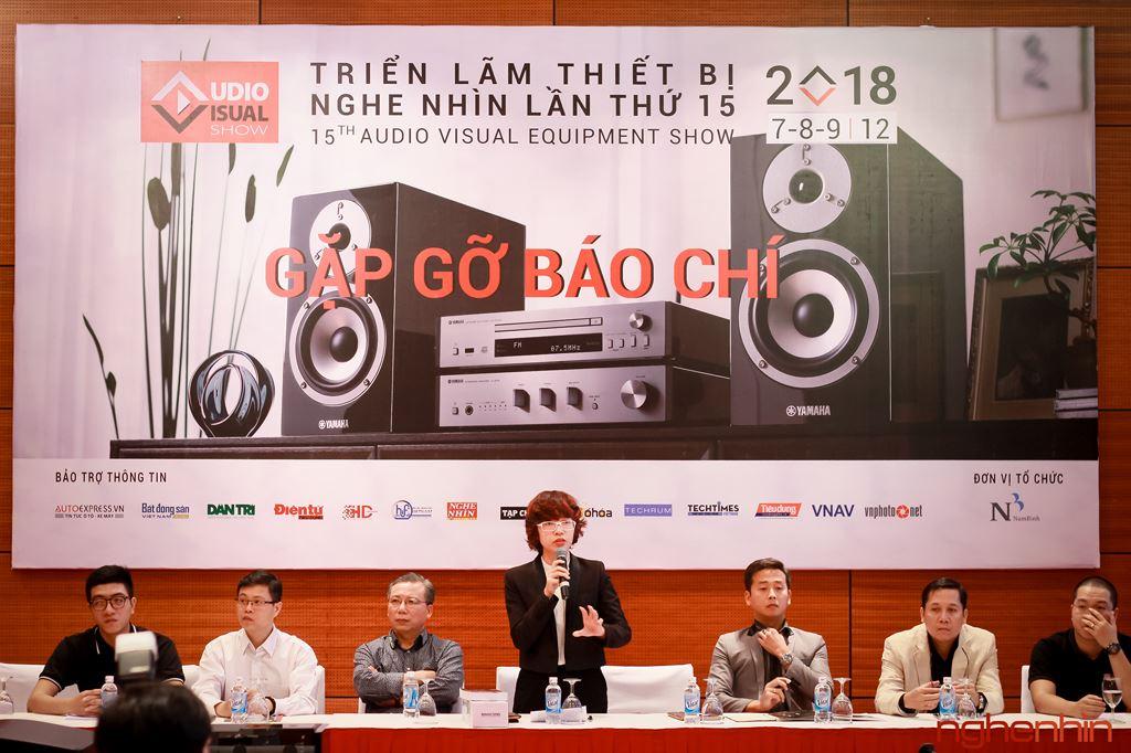 AV Show 2018 lần thứ 15 sẽ diễn ra từ 7-9 tháng 12 tại Hà Nội ảnh 1