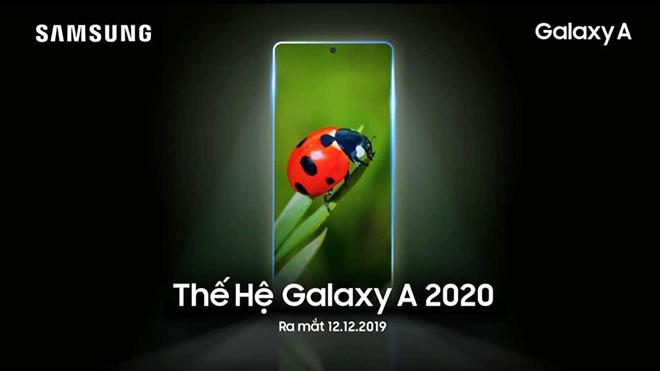 galaxy a 2020 san sang ra mat tai viet nam ngay 12/12, dep lung linh hinh anh 1
