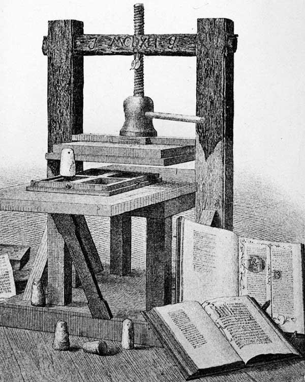 Phương pháp in của Gutenberg