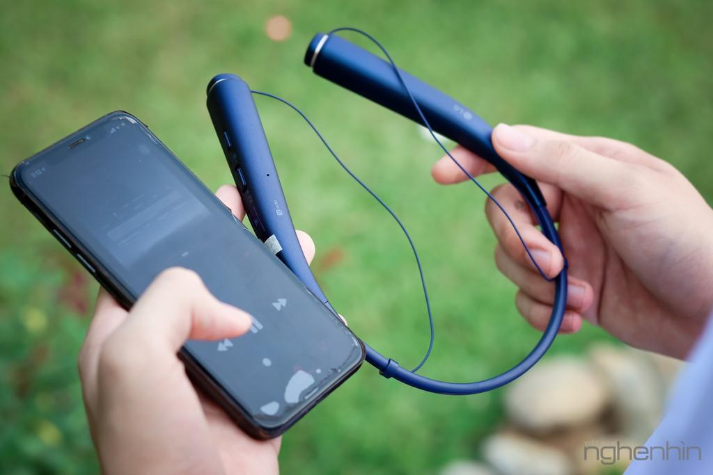 Đánh giá tai nghe bluetooth stereo LG Tone Pro HBS-780: chất ổn, đeo thoải mái, pin lâu ảnh 5