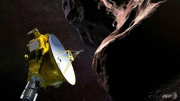 Tàu thăm dò New Horizons bay ngang qua và chụp ảnh Ultima Thule thuộc vành đai Kuiper
