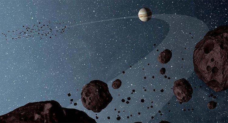 Sao Mộc được hình thành cách xa Mặt trời và sau đó di chuyển đến quỹ đạo hiện tại của nó.