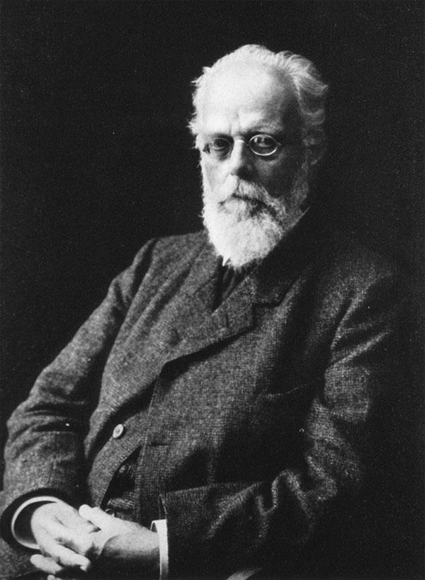 Nhà sinh học người Đức August Weisman.