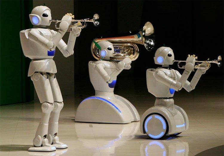 Trí tuệ nhân tạo làm nhạc sĩ.