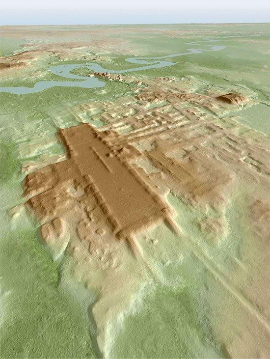 Đây là một quần thể kiến trúc nghi lễ lớn nhất và lâu đời nhất của nền văn minh Maya