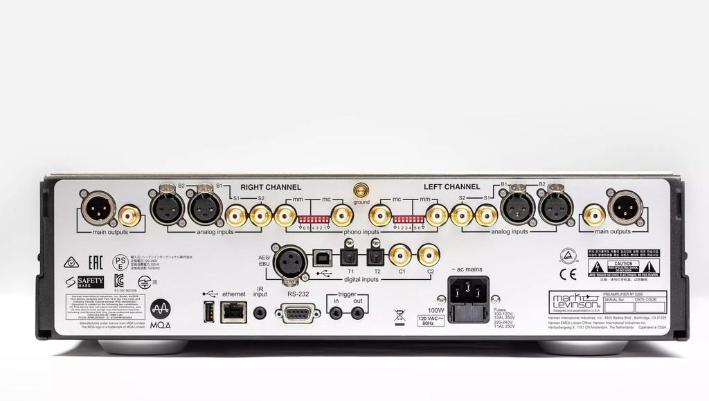 Preamp Dual Mono Mark Levinson No.5206 - Trải nghiệm âm thanh như những màn trình diễn trực tiếp ảnh 4
