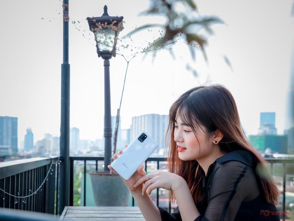 Trên tay smartphone giá rẻ Galaxy A21s nhưng có 4 camera, pin 5.000 mAh  ảnh 11