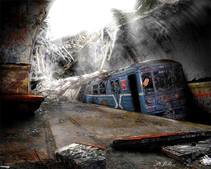 Hệ thống giao thông công cộng ở các thành phố sẽ sụp đổ chỉ sau 1 ngày.