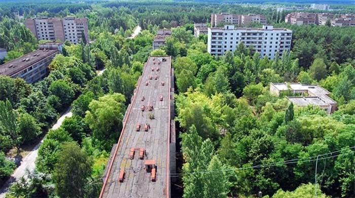 Chernobyl, một trong những nơi bỏ hoang lớn nhất thế giới.